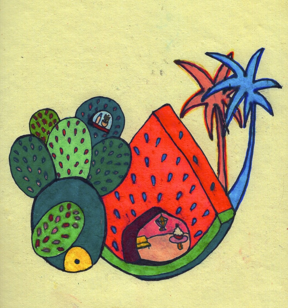 'Watermelon Wonderland' by Elle-louise Burguez