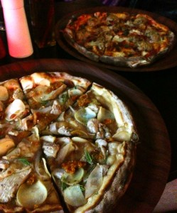 (P)iggy and the Stooges & Brown Sugar Pizzas