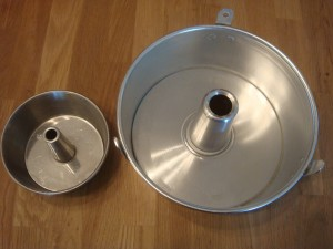 Aluminium detachable bottom cake tin