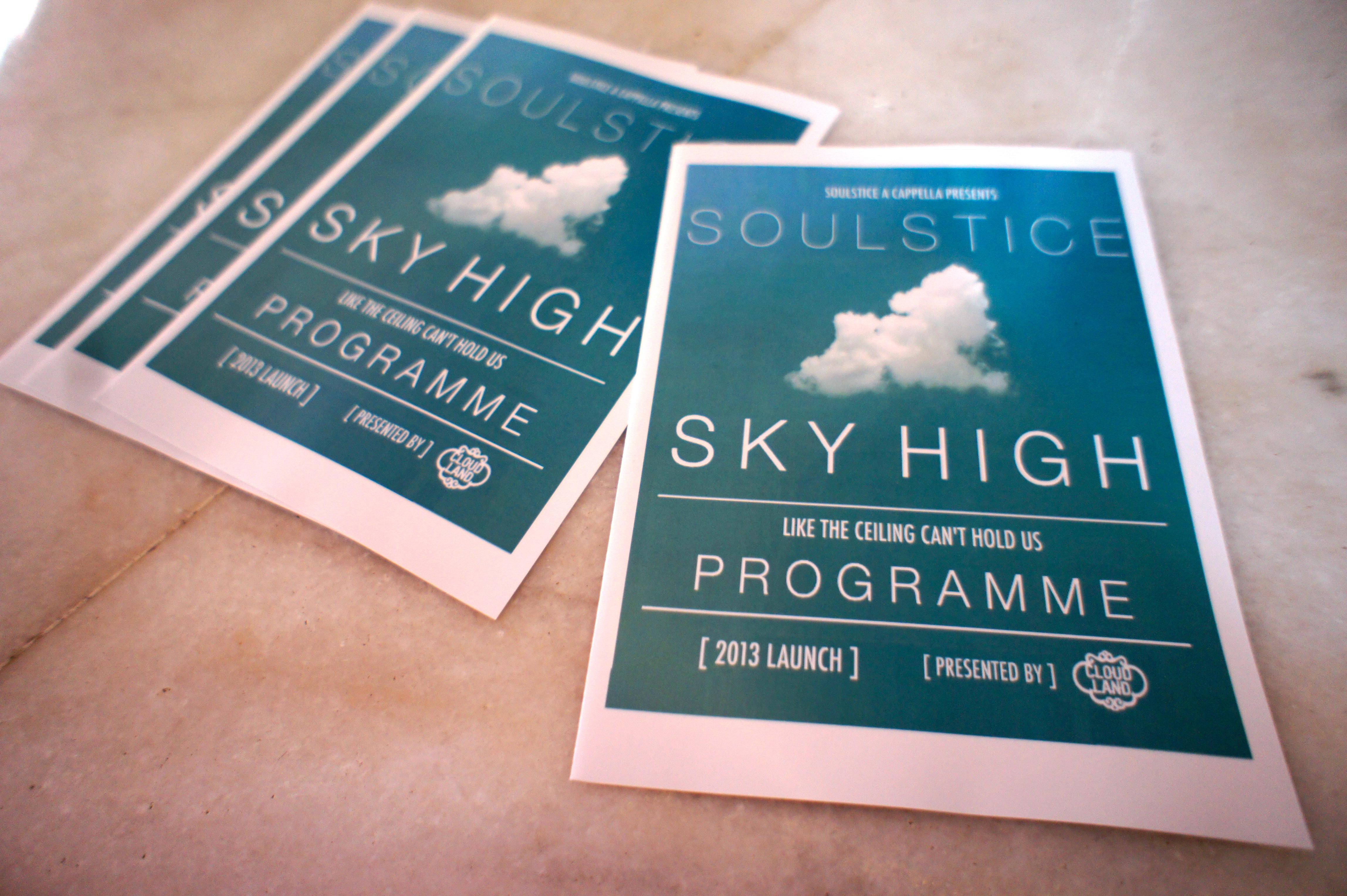 Soulstice Programme