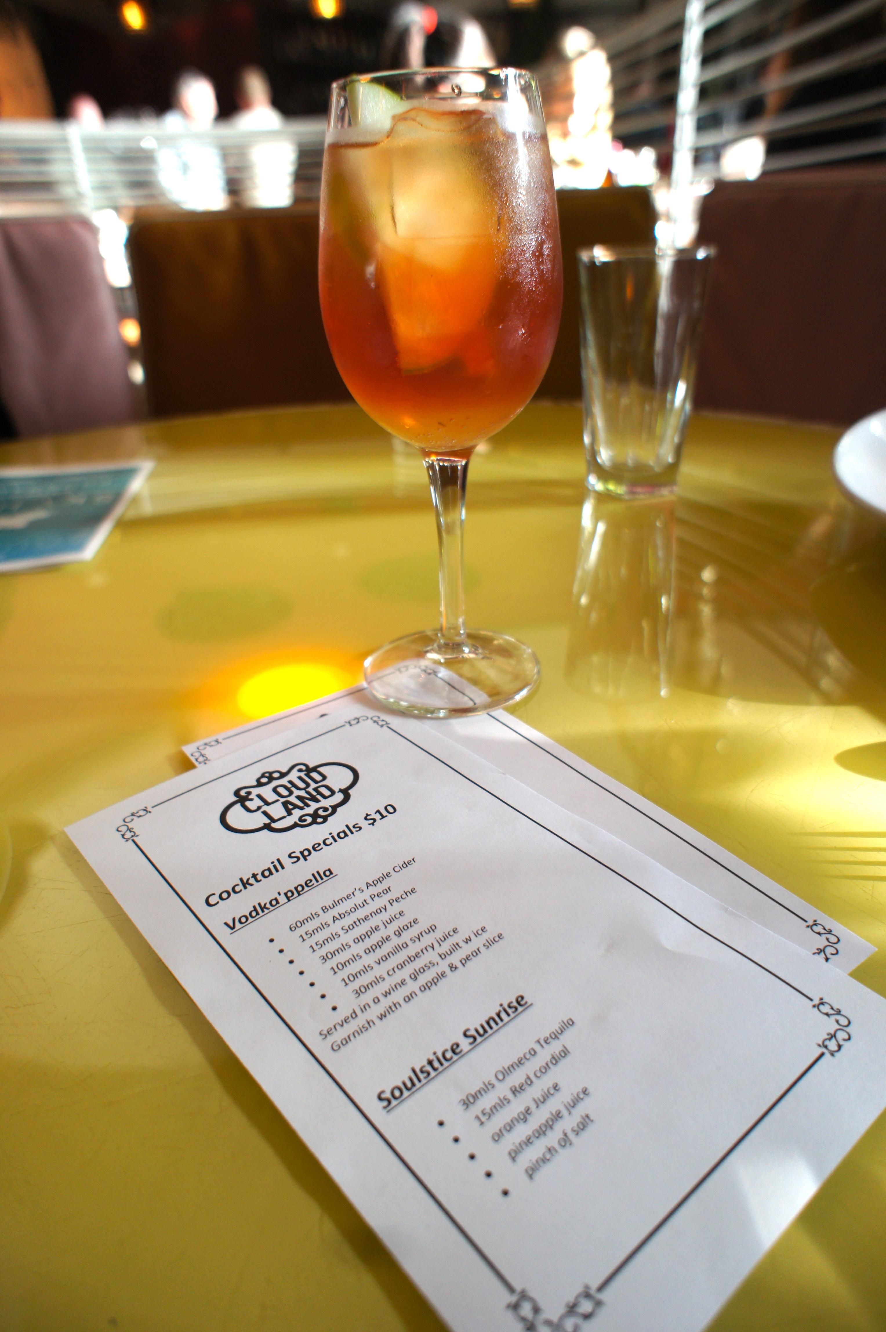 Vodkappella cocktail