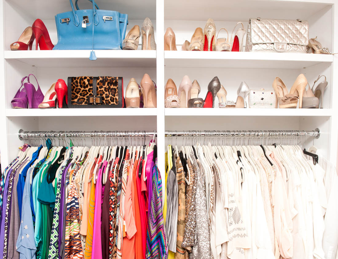 Who doesn't dream of raiding an A-List wardrobe!