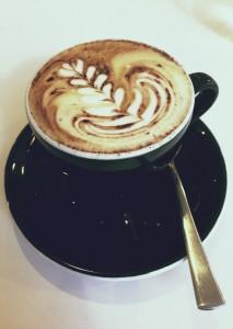 Cappuccino at Pourboy Espresso