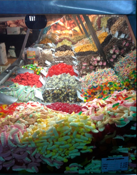 Sweet treats at the Woolworths Fresh Food pavilion. Image: Cathy Dee.