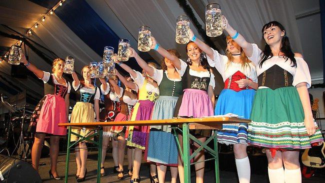 Miss Oktoberfest Competition in Brisbane (Source: www.couriermail.com.au)