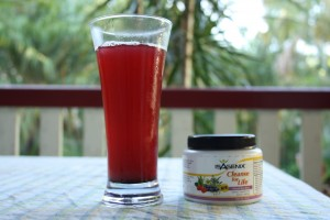 Isagenix Cleanse for Life powder and drink