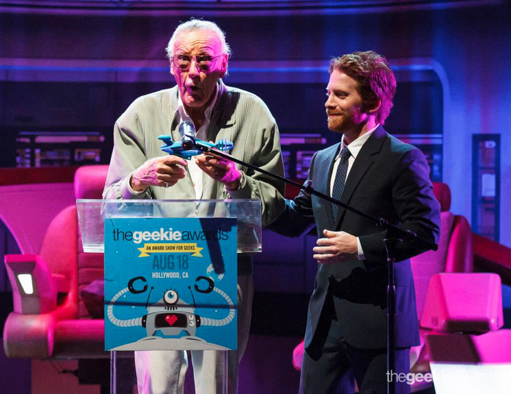 Stan Lee and Seth Green