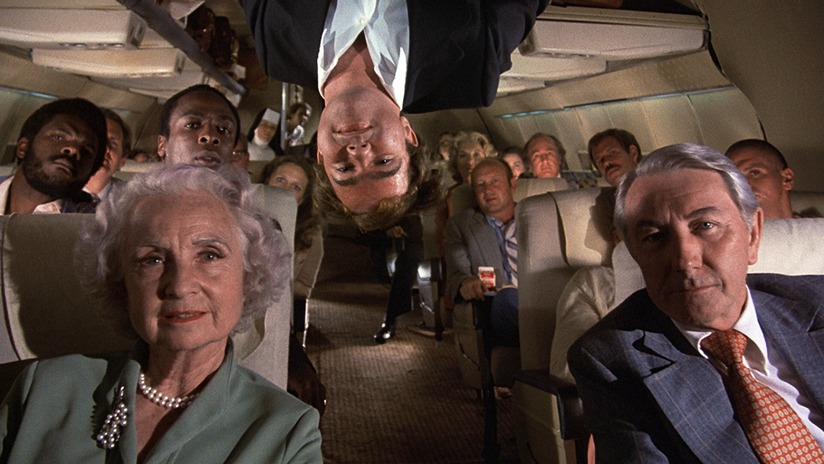 1980 slapstick comedy, Airplane! (Source: www.cinemasquid.com)