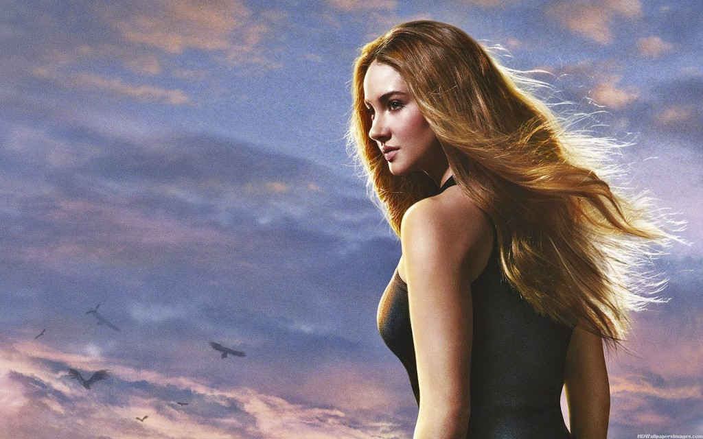 Tris, played by Shailene Woodley