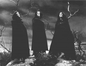 Three witches. Image from www.afana.org