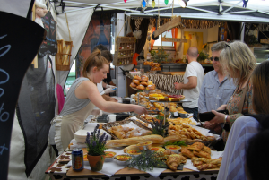 Enjoy some delicious French cuisine at the Brisbane French Festival.
