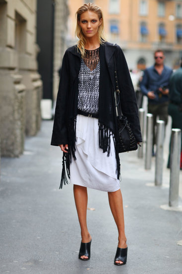 Anja-Rubik-layered-up-open-knit-polished-off-her-black-white-look-mules1