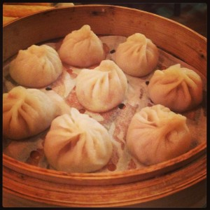 The Xiao Long Bao were pretty as a picture but missing the broth