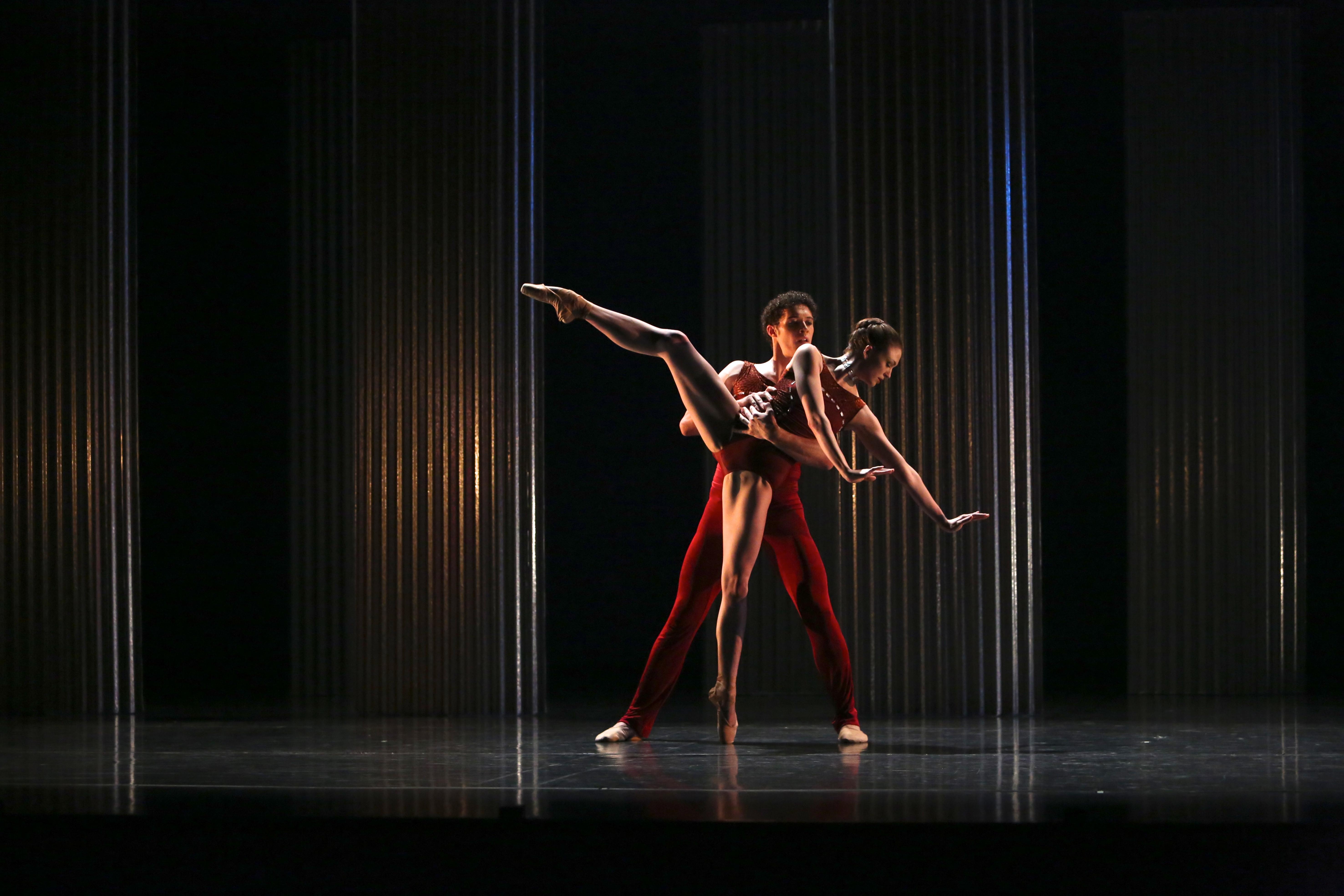 QB's Flourish -Clare Morehen and Emilio Pavan in Nicolo Fonte's Bolero