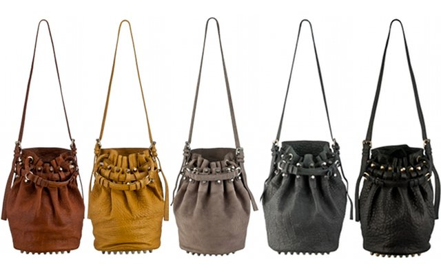 Alexander Wang Diego Bucket Bag Rainbow