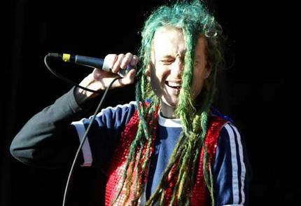 jay blue dreads