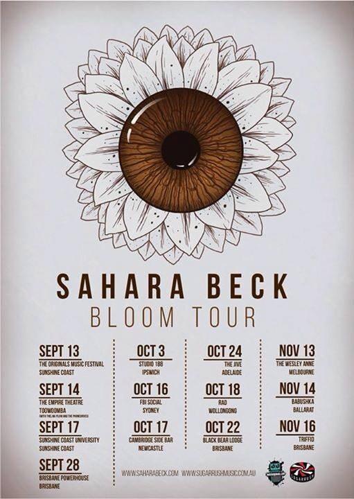 Sahara Beck Bloom Tour