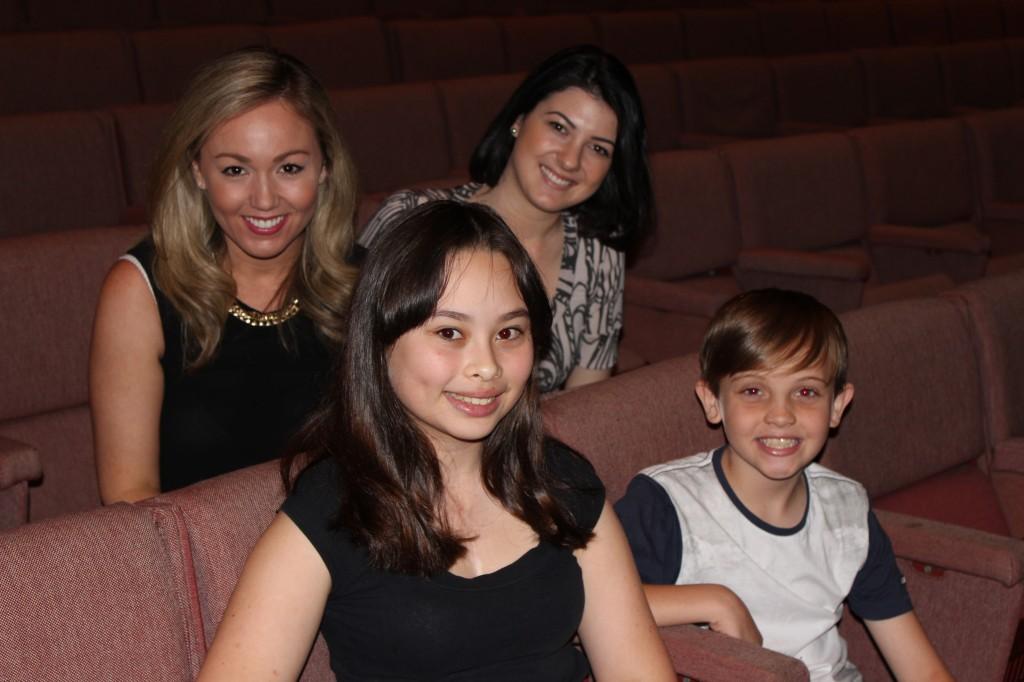 Amanda, Talia, Jackie and Seth
