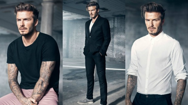 Modern Essentials David Beckham  H&M Indooroopilly 5/2