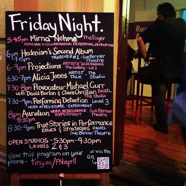 Friday Night in 2013