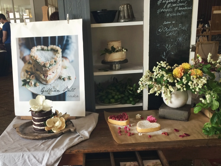 Gillian Bell's cakes looked too pretty to eat!