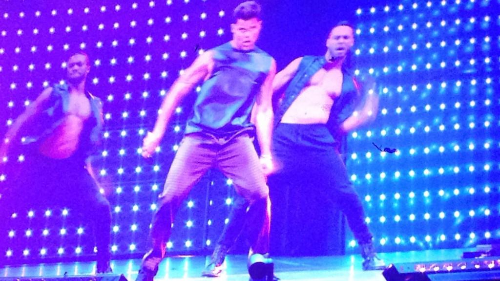 Ricky Martin on stage