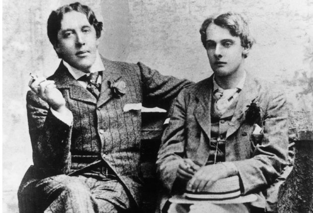 Oscar Wilde and Lord Alfred Douglas (Photo: Getty)