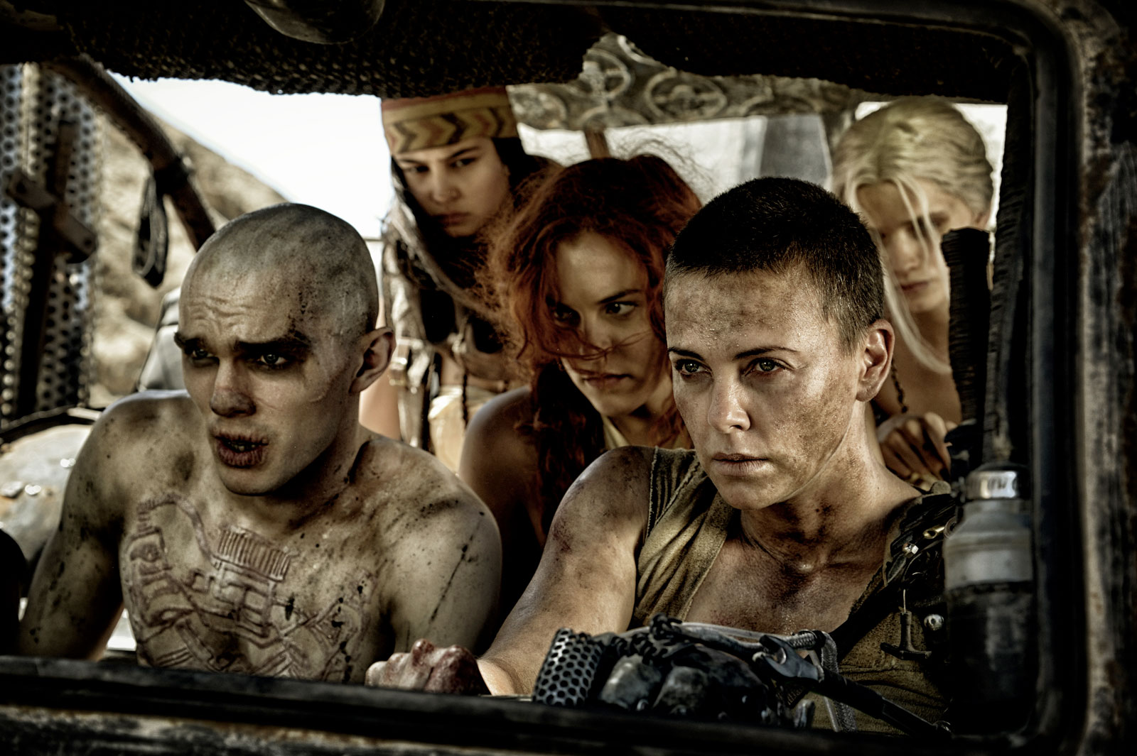 Mad Max In Car