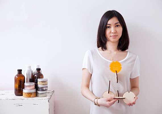 2014 Home and Living award-winner Mei Ong with her skincare line Vice and Velvet