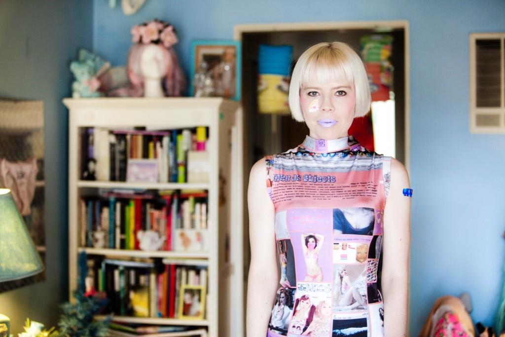 QPF Artist in Residence, Kate Durbin.