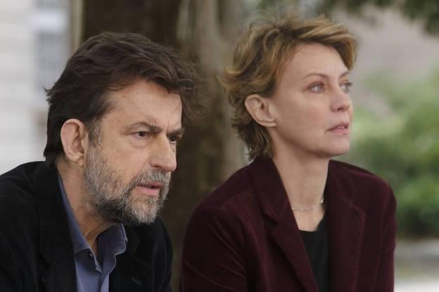 Giovanni (Nanni Moretti) and Margherita (Margherita Buy) in Mia Madre