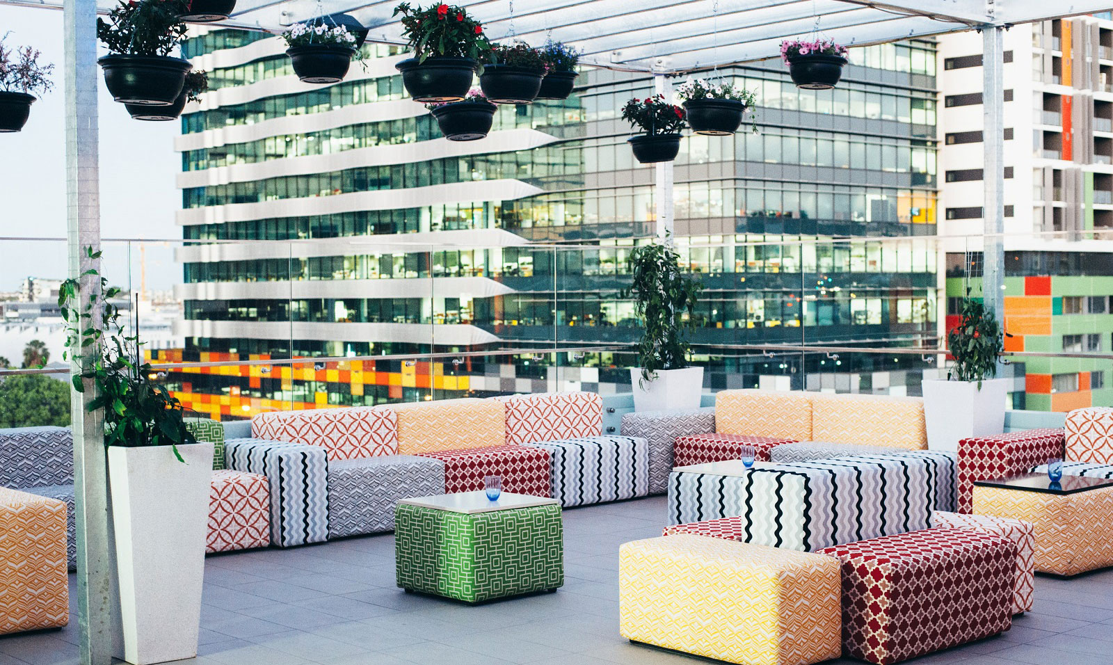 Up on Contace TRYP Hotel